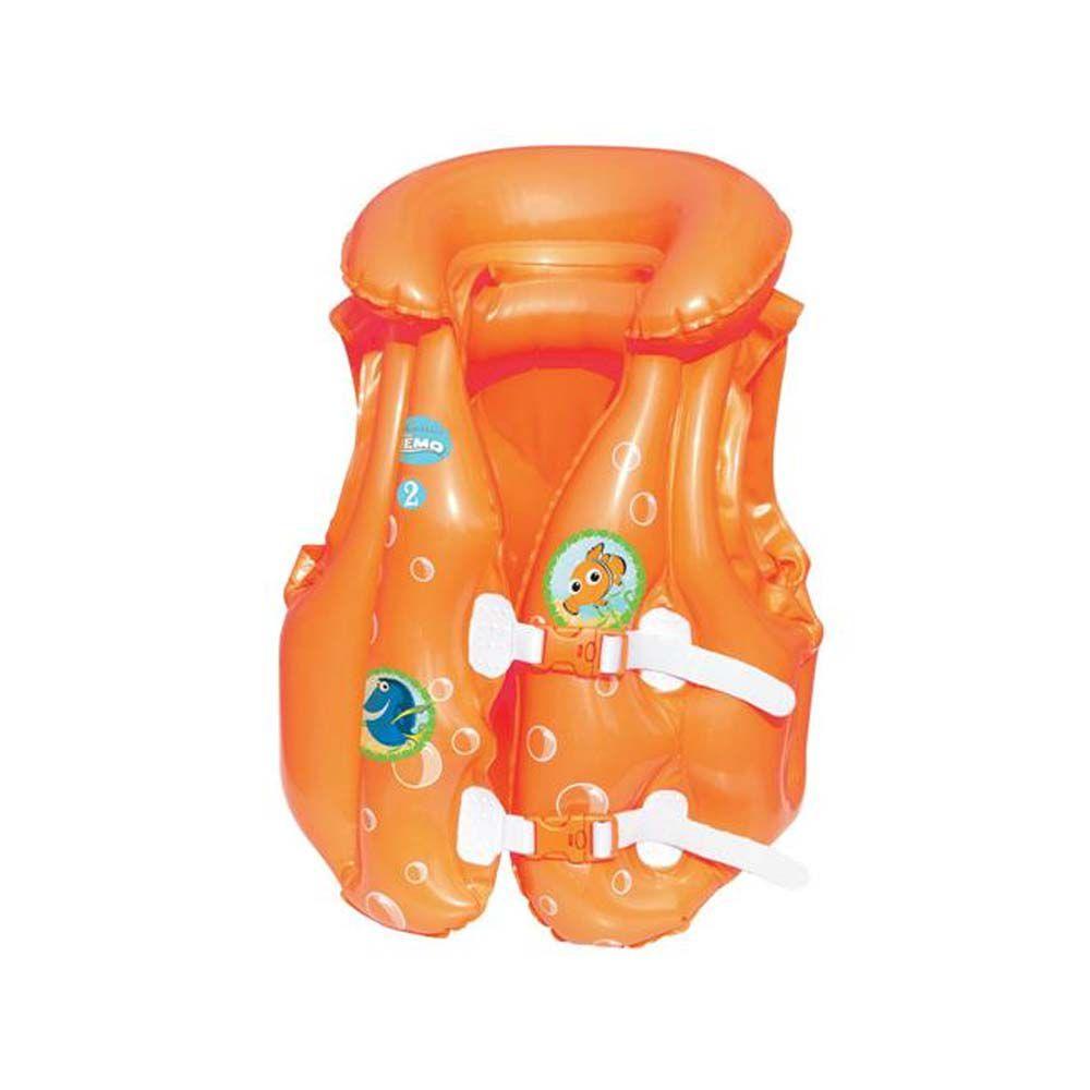 colete inflável infantil procurando o nemo disney