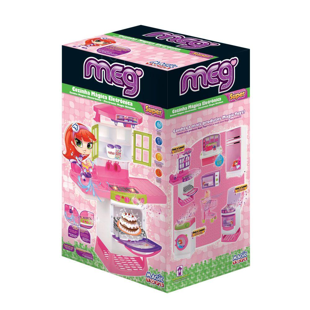 cozinha infantil magica eletrônica luzes e som magic toys