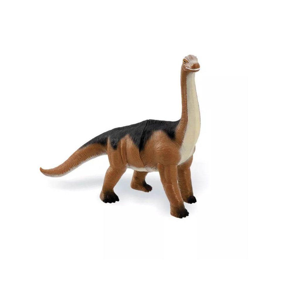 dinossauro amigo dino boneco de borracha 22cm inmetro