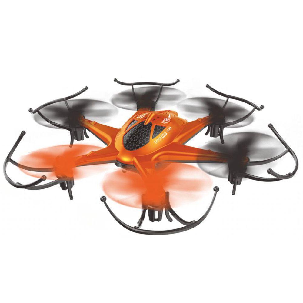 drone fanto 2 com câmera 2mp luzes leds 2.4 ghz alcance 50m