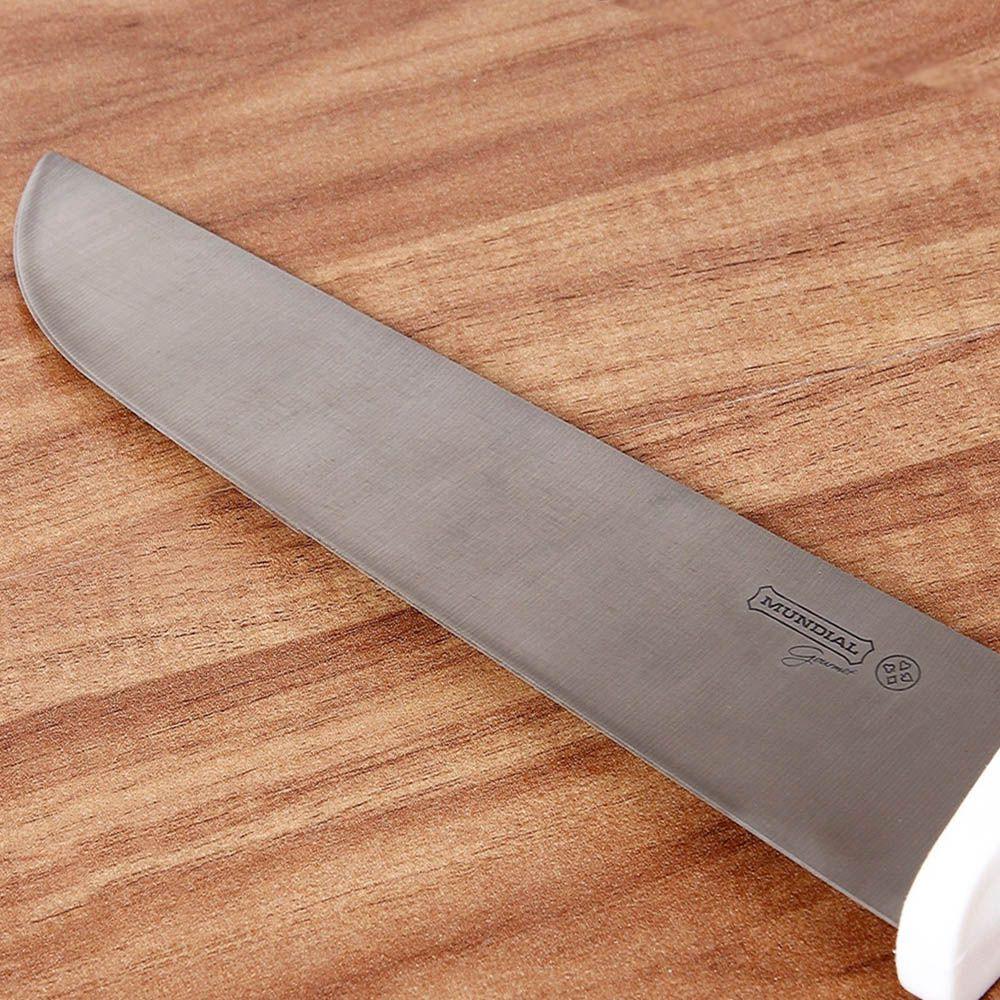 faca de açougueiro 10 polegadas profissional em inox