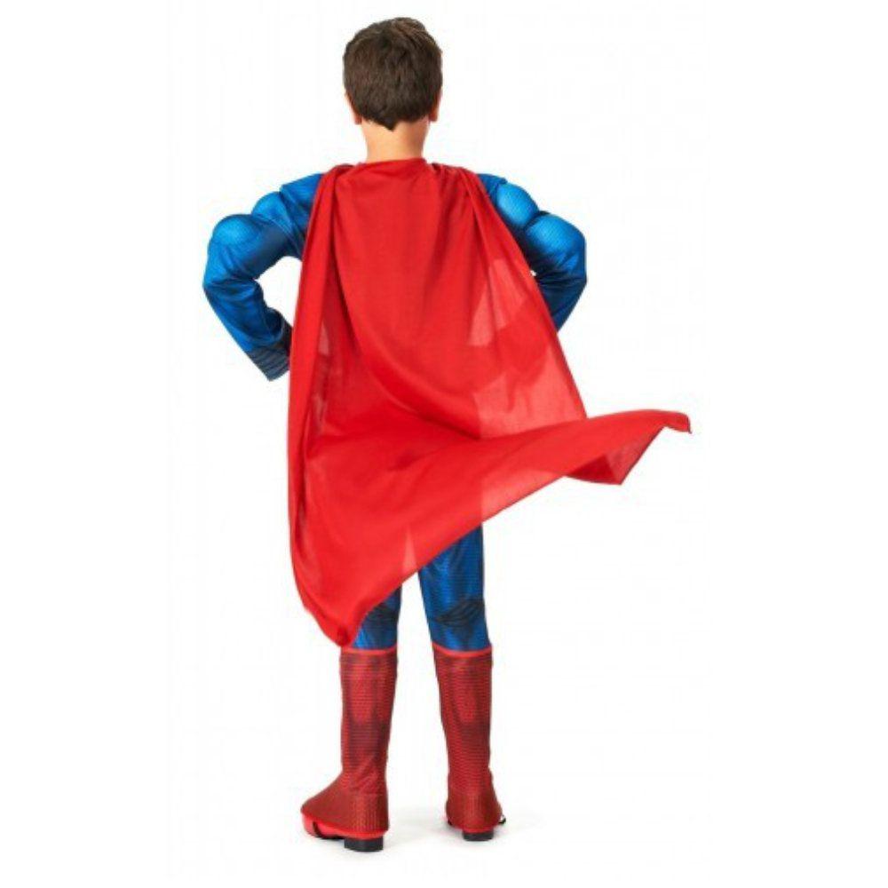 fantasia super homem infantil com músculos de 7 a 8 anos