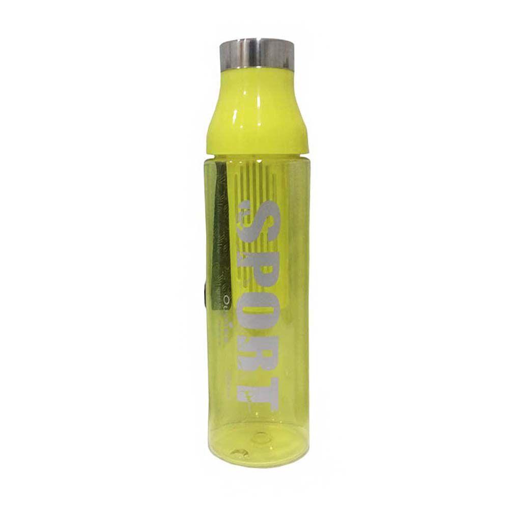 garrafa squeeze esporte com infusor para chá 1.5m - Amarelo