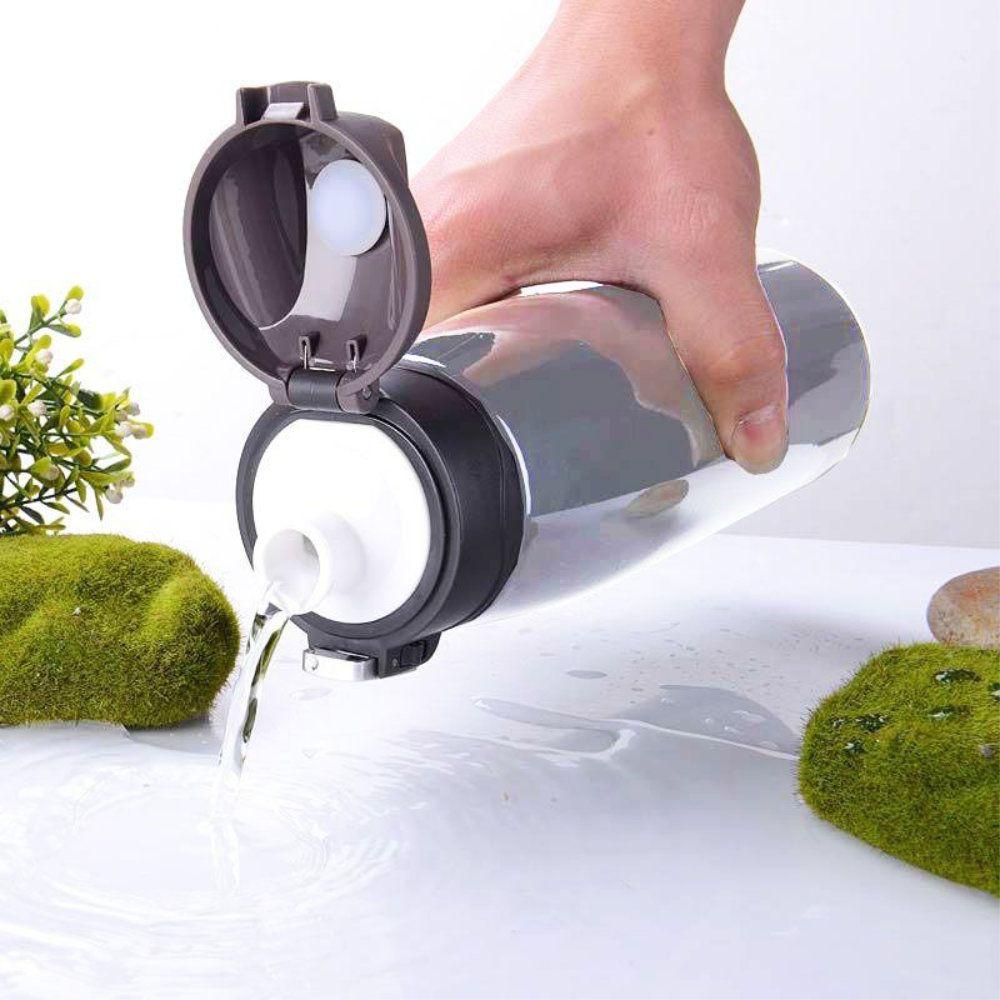 garrafa térmica 750ml com trava vacuum inoxidável resistente
