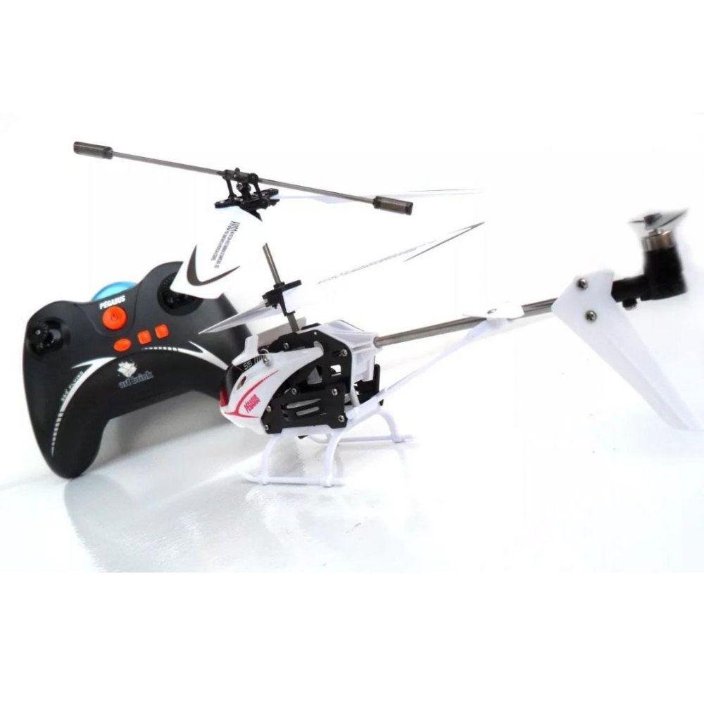 helicóptero de controle remoto 3 canais recarregável 23cm