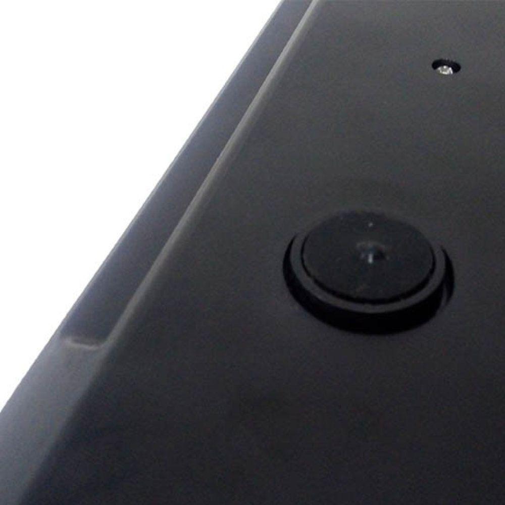 kit 3 balanças digitais 5kg em vidro temperado - preto