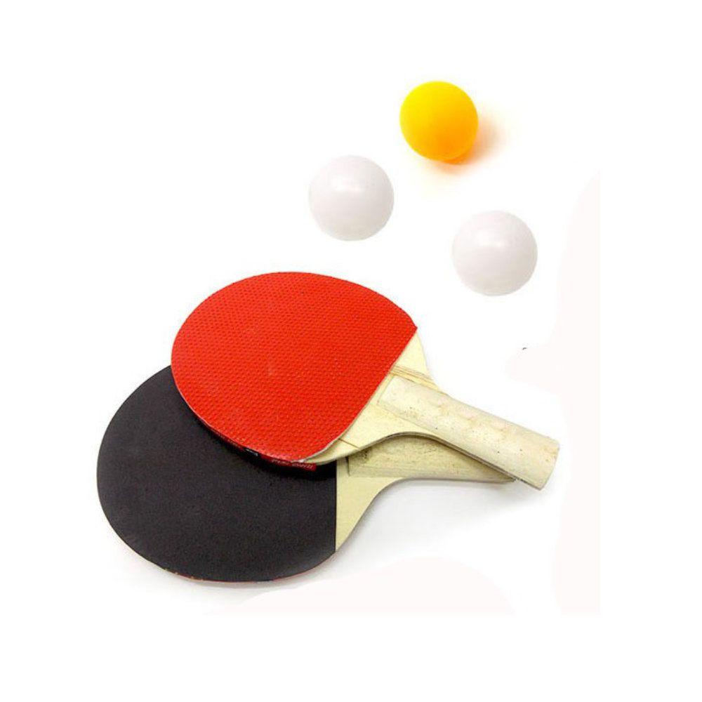 kit jogo de ping pong completo para tênis de mesa com rede