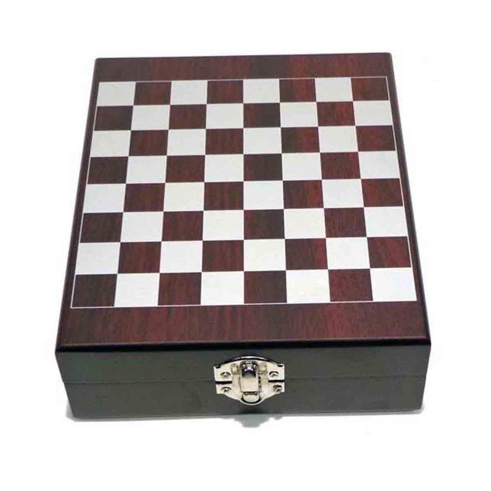 b73c9bcb8d0 ... kit para vinho com jogo para xadrez conjunto 4 peças - New Mix  Comercial ...