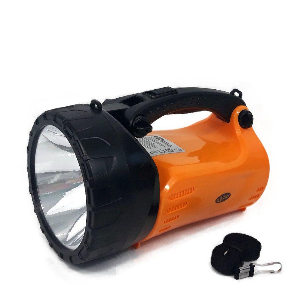lanterna led holofote potente 2 em 1 recarregável bivolt