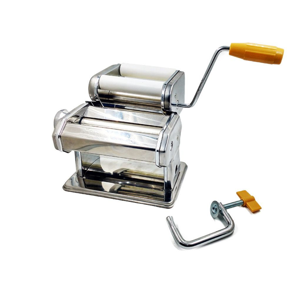 maquina de massa para fazer ravióli inox com manual