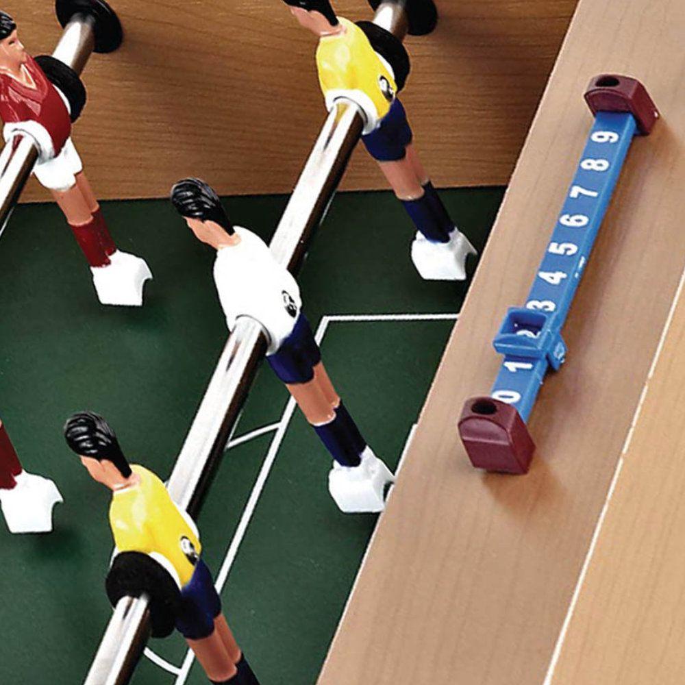 Mini Mesa Pebolim Futebol Em Madeira Com Pés 70x37x17cm