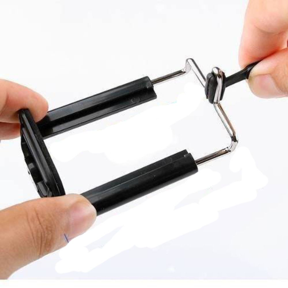 mini tripé flexível universal para câmera e celular vermelho