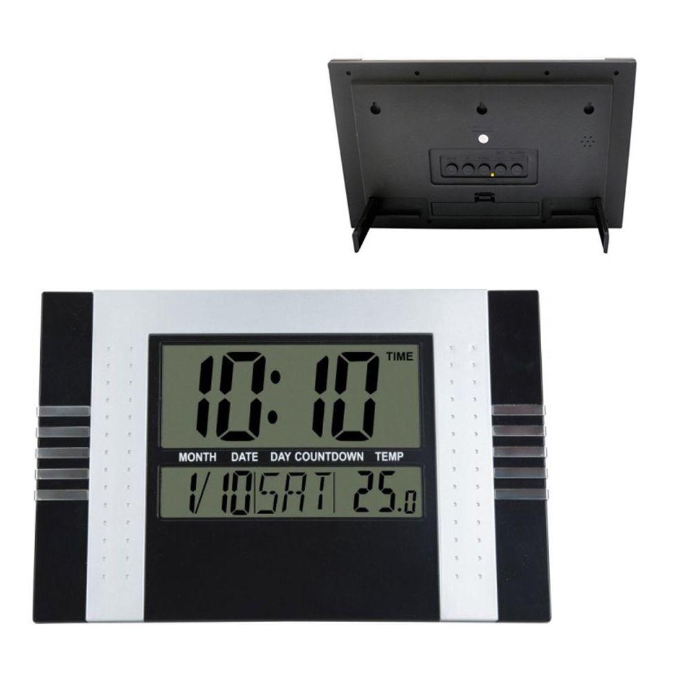 bace722fa3a relógio de parede e mesa digital despertador temperatura - New Mix  Comercial ...