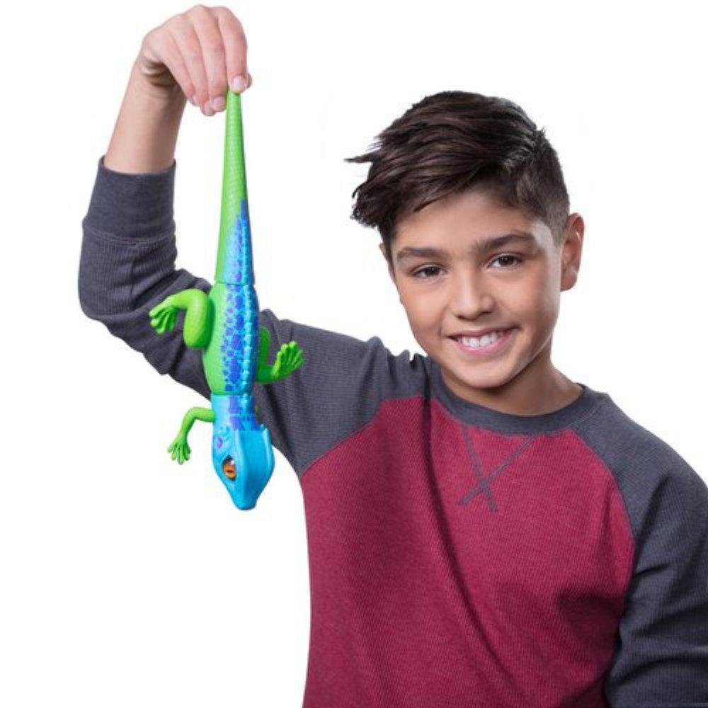 robô alive lagarto realístico com movimentos - verde dtc