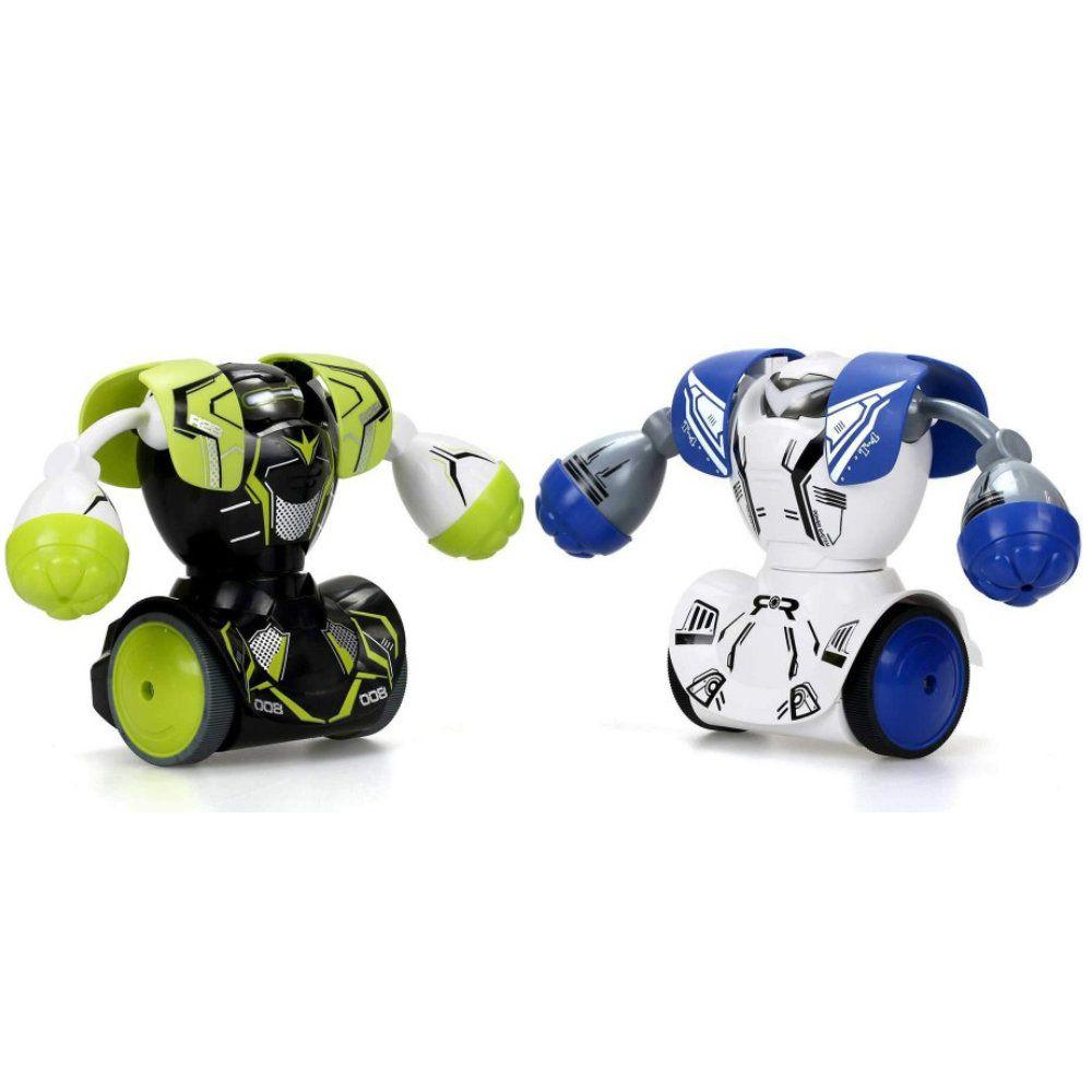 robôs boxeadores silverlit kombat de batalha com sons - dtc
