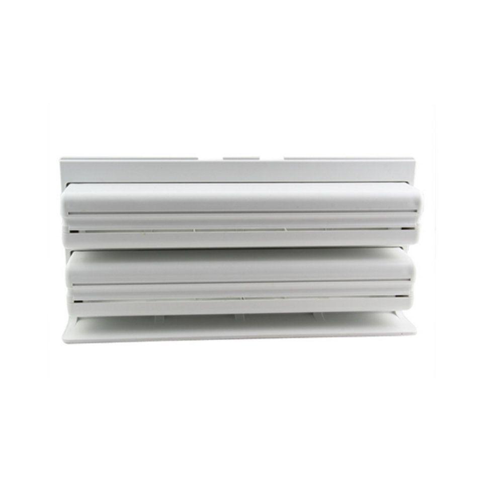 suporte triplo de papel toalha papel alumínio e filme