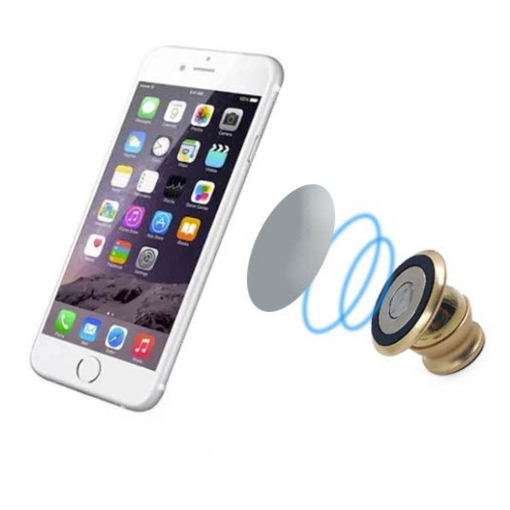 suporte veicular magnético para celular com angulo ajustável