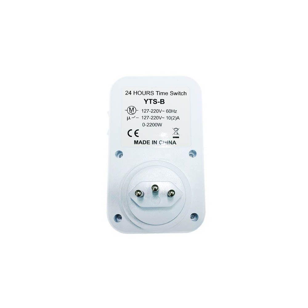 timer analógico temporizador bivolt programável 24h 2200w