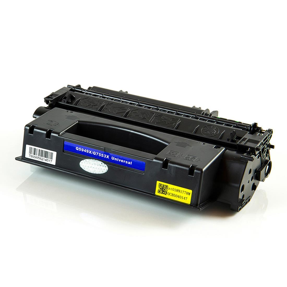 Cartucho Toner HP 5949/7553-X -  Modelos: 1320/1320N/1160