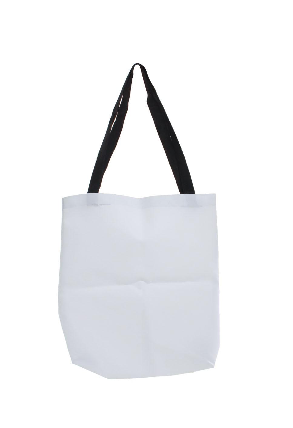 Bolsa Cordoba com Ziper Branca - Pra Sublimar 6e6fb042078d4