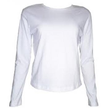 f57951320c Camiseta Baby Look Manga Longa - Pra Sublimar