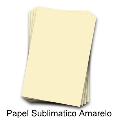 Papel Transfer para sublimação Amarelo