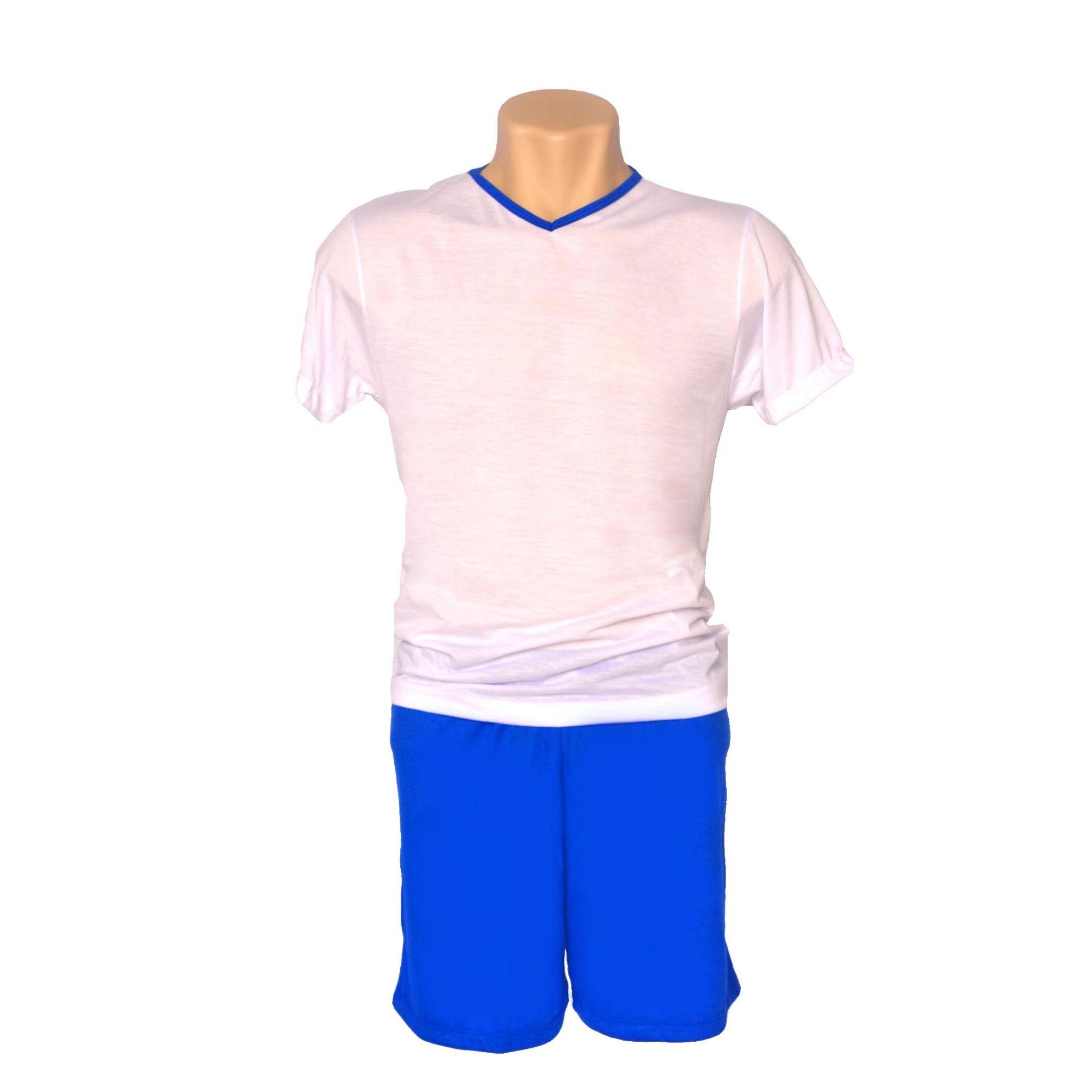 Pijama Infantil curto feminino e masculino