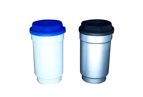 Tampa para copo de café e de Aluminio