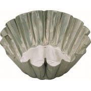 Forminha Redonda Crespa - 6 x 2.3 cm - C/12 Un. - Flandres