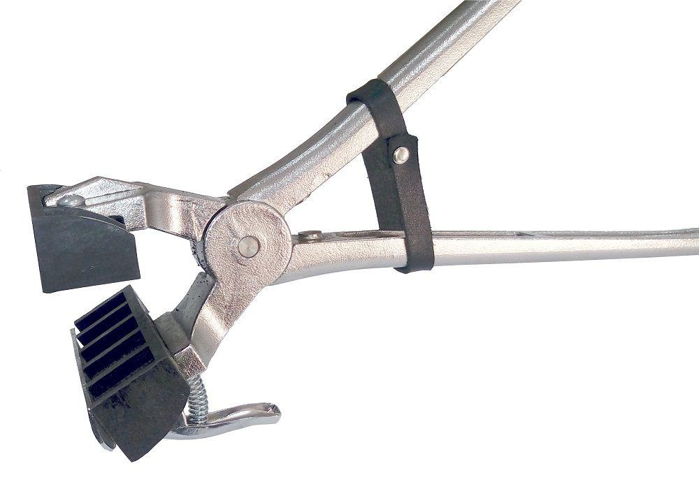 Conjunto Tatuadeira aço Inox 5 espaços - Cabo Curto - Eletro Polida - 18 mm - L17 x 24