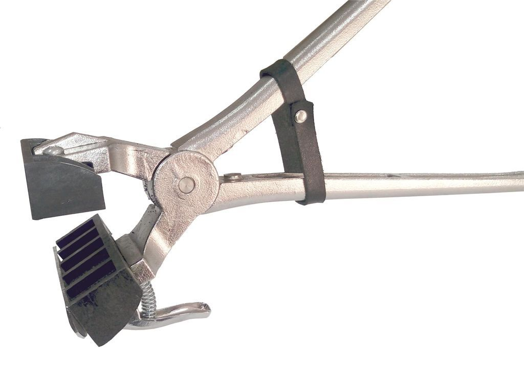 Cj. Tatuadeira aço Inox 5 espaços - Cabo Longo - Eletro Polida - 18mm - L17x24