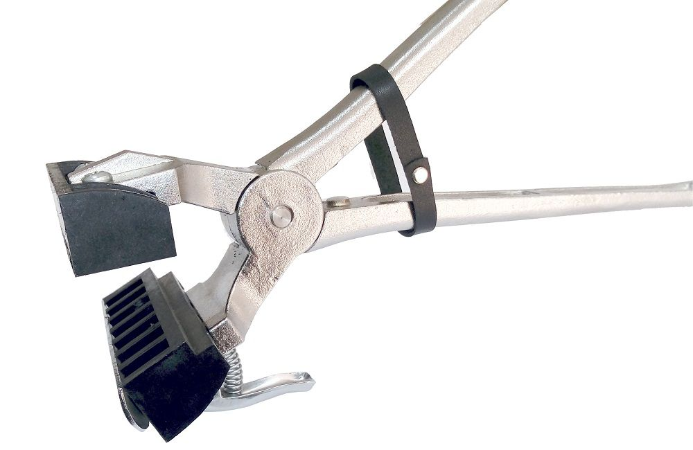 Cjto Tatuadeira aço Inox 7 espaços - Cabo Curto - Eletro Polida - 10mm - L10x17.5