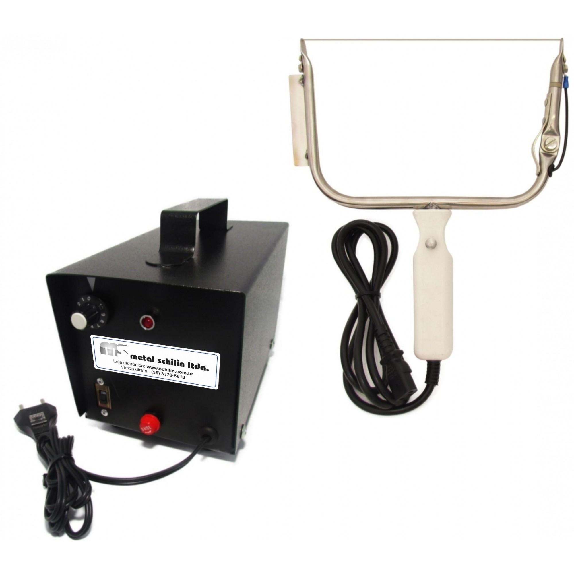 Conjunto Desoperculador Eletrônico Largo - 24 cm