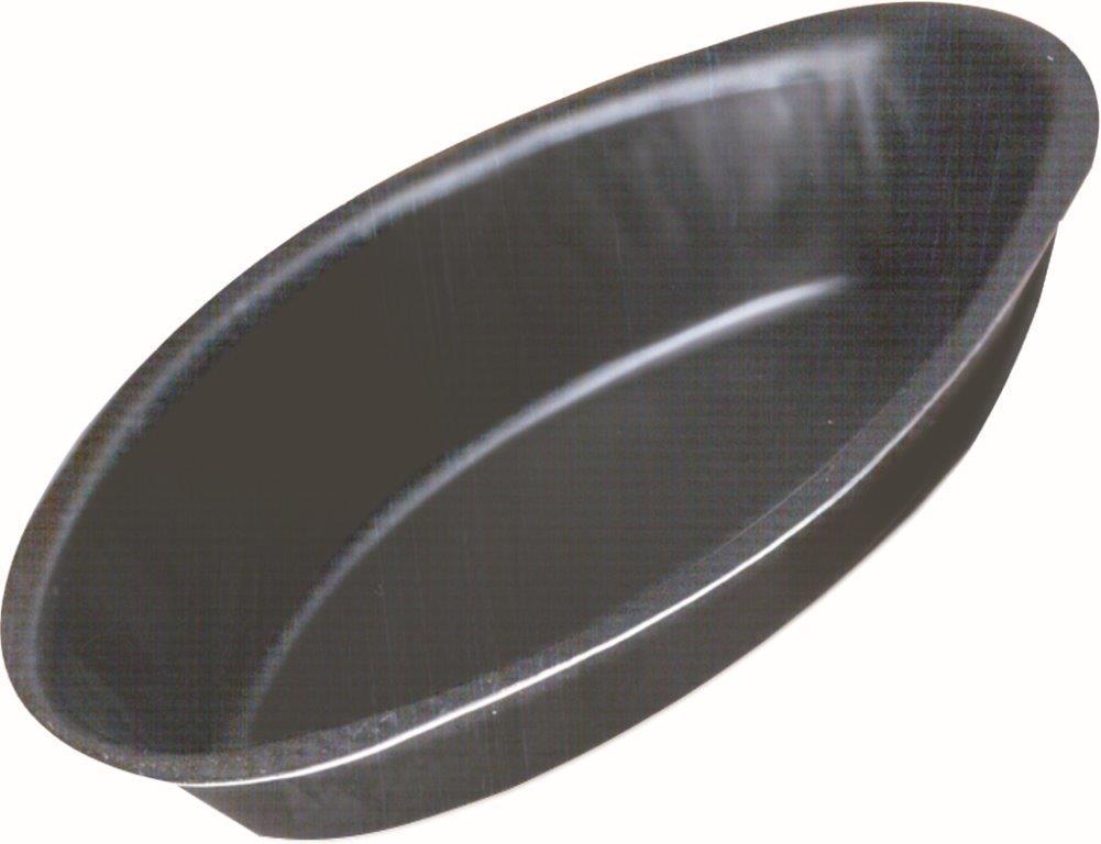 Forminha Canoa Lisa - 8 x 4 cm - C/12 un. - Antiaderente