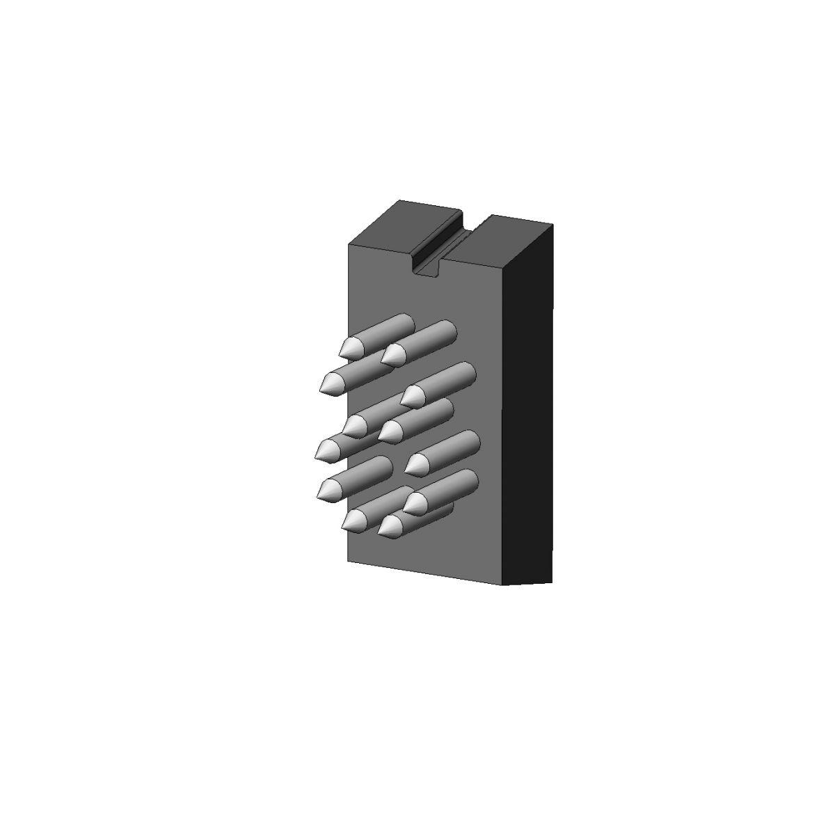 Jogo Números P18.5 x 9 (10 mm) - 4 Espaços