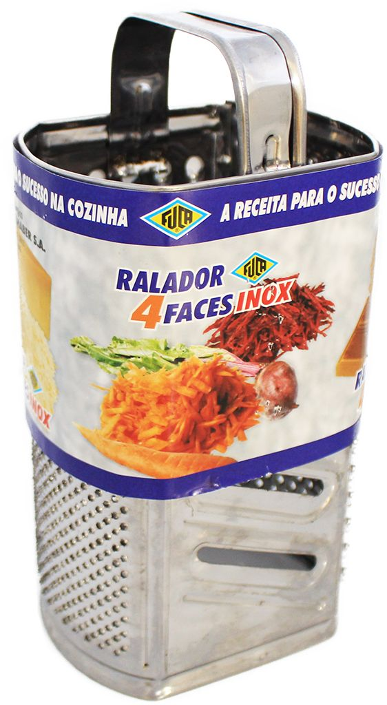 Ralador 4 Faces - Inox