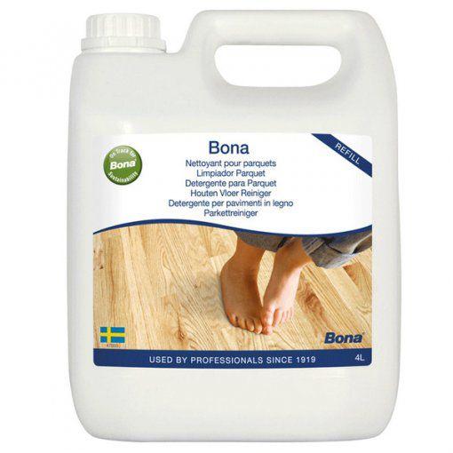 BONA REFIL LIMPADOR CARE CLEANER  4 LITROS PISOS DE MADEIRA