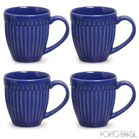 CANECA ROMA AZUL NAVY  CLASSIFIC UN