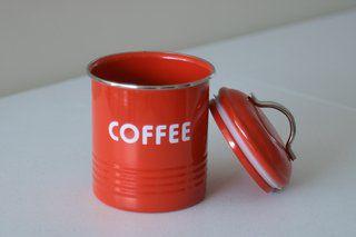 POTE PORTA CAFÉ GALVANIZADO
