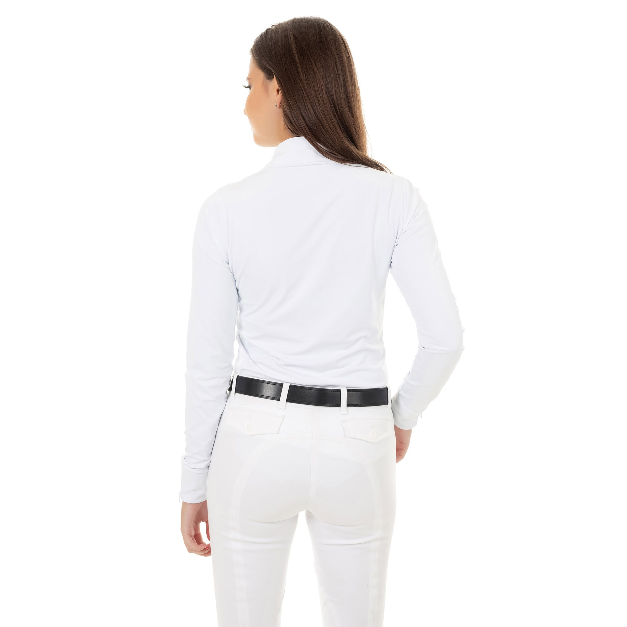 CAMISA PROVA MICROTECH FEMININA zipper manga longa
