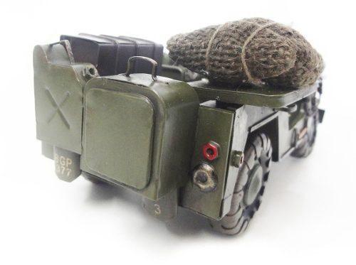 Jeep Miniatura De Ferro Fundido 2 Guerra Eua (CJ-006)