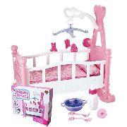 Berco De Boneca Crianca Acessorios Mobile Brinquedo Menina