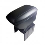Apoio Para Braço Carro Com 4 Usb e Caixa Armazena Porta Objeto Encosto Suporte Universal Preto (bsl-45765-5)