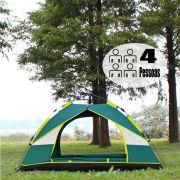 Barraca Camping Abre Automatico 4 Pessoas Acampamento Trilha