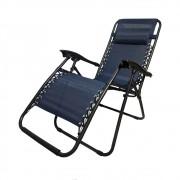 Cadeira Espreguiçadeira de Praia Camping Grande Dobravel Confortavel Varanda