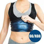 Camiseta Cinta Queima Gordura Termica Perde Peso Feminina Neoprene Emagrece Suor