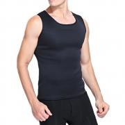 Cinta Camiseta Termica Queima Gordura Masculina Neoprene Suor Perde Peso Emagrece