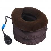 Colar Cervical Pescoço Inflável Ortopedico Alivia Dores Almofada Postural Segurança Portatil Relaxamento