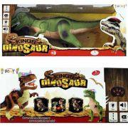 Dinossauro Com Controle Remoto Brinquedo Som Luta Danca (f151)