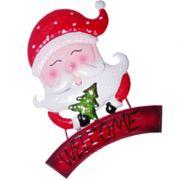 Enfeite Face Papai Noel Natal Para Pendurar Parede (NA-17 Noel)